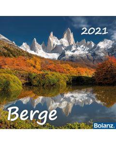 Berge 2021 - Tischkalender