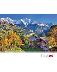 Schweizer Bergkalender 2021 - Französisch
