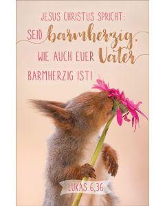 Kalenderkärtchen Eichhörnchen 2021