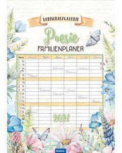 Wortschatzgalerie Poesie 2021 - Familienplaner