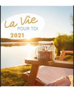 Leben für Dich 2021 - Französisch Postkartenkalender