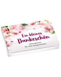 Ein kleines Dankeschön - Postkartenset
