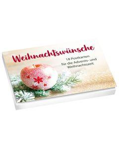 Weihnachtswünsche - Postkartenset
