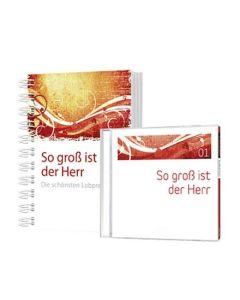 Set: So groß ist der Herr - Liederbuch + CD1