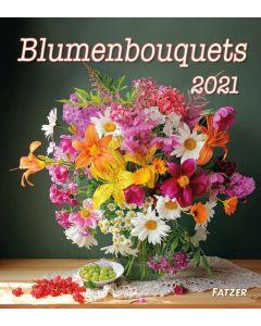 Blumenbouquets 2021 - Wandkalender