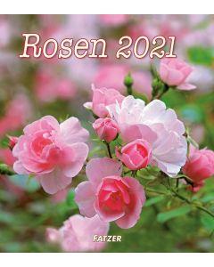 Rosen 2021 - Wandkalender