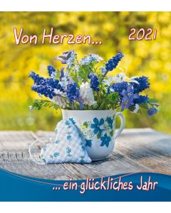 Von Herzen...2021 - Wandkalender