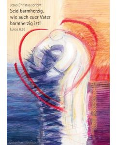 Jahreslosung 2021 - Kunstblatt 60x90cm