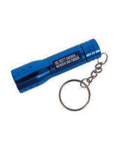 """Taschenlampe mit LED Licht """"blau"""""""