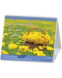 Aus dem Leben - für das Leben 2021 - Postkartenkalender