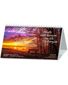 Heute und morgen bin ich geborgen 2021 - Postkartenkalender