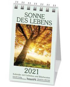 Sonne des Lebens 2021 - Aufstellkalender