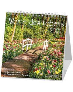 Worte des Lebens 2021 - Postkartenkalender