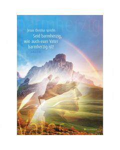 Jahreslosung 2021 - Postkarten, 4 Stück - Idea Edition