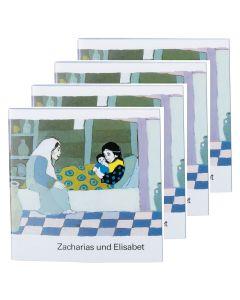 Zacharias und Elisabet- 4er Set