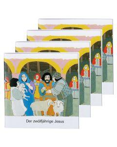 Der zwölfjährige Jesus - 4er Set