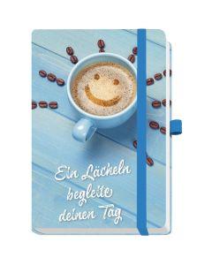 Notizbuch maxi - Ein Lächeln begleite deinen Tag