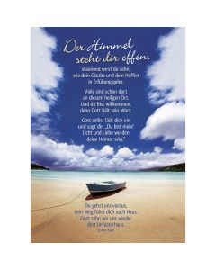 Postkarten: Der Himmel steht dir offen, 4 Stück