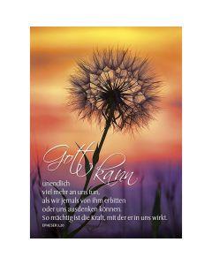 Postkarten: Gott kann unendlich viel mehr, 12 Stück