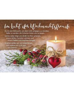Postkarten: Im Licht der Weihnachtsfreude, 12 Stück