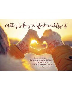 Postkarten: Alles Liebe zur Weihnachtszeit, 12 Stück