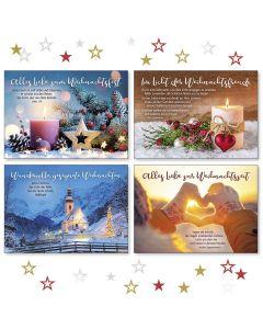 Weihnachts-Postkartenserie 12 Stück