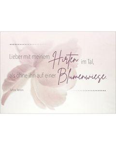 """Postkarten """"Hirte"""" 4er-Serie"""