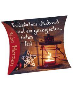 """Schafmilchseife Herz """"Besinnlichen Advent"""""""
