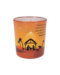 "Duftkerzenglas ""Weihnachtsgeschichte"""