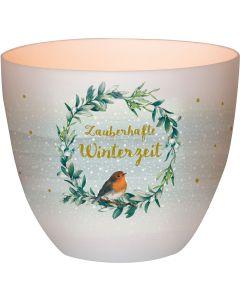 """Windlicht LichterZeit """"Zauberhafte Winterzeit"""""""
