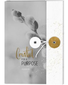 Notizbuch mit Knopf - Grace & Hope