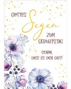 """Postkartenserie """"Gottes Segen zum Geburtstag"""" 10 Stk."""