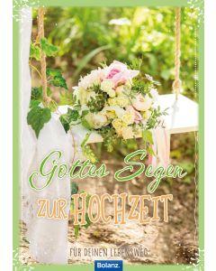 """Grußheft """"Gottes Segen zur Hochzeit"""""""