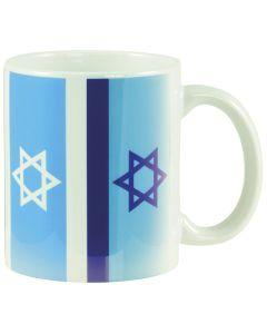 """Tasse """"Israel Fahnen"""""""
