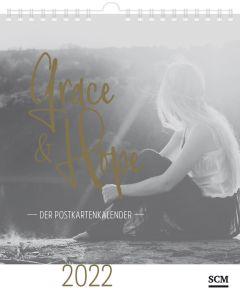 Grace & Hope 2022 - Postkartenkalender