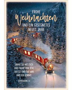 "Postkartenserie ""Lokomotive"" - 12 Stück"
