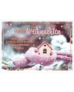 """Faltkarte """"Hütte"""""""