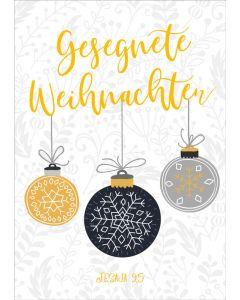 """Faltkarte """"Gesegnete Weihnachten"""""""