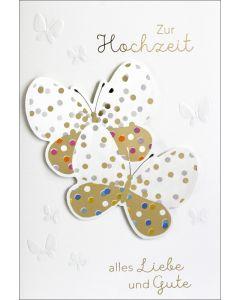 """Faltkarte """"Zur Hochzeit"""""""