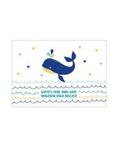 "Postkarte ""Walfisch"""