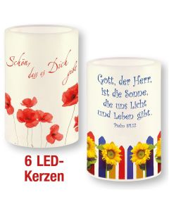 Spar-Paket: LED-Kerzen