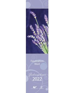 Faszination Wort - Streifenplaner 2022