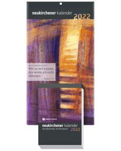 Neukirchener Abreißkalender 2022 - mit Rückwand, Annegret Puttkammer (Hrsg.), Ralf Marschner (Hrsg.), Samuel Lutz (Hrsg.)
