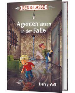 ARTIKELNUMMER: 228933000  ISBN/EAN: 9783417289336 Ben & Lasse - Agenten sitzen in der Falle Thomas Georg (Illustr.), Harry Voss (Autor) CB-Buchshop 3D Cover