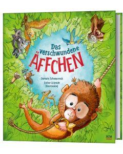 ARTIKELNUMMER: 228924000  ISBN/EAN: 9783417289244 Das verschwundene Äffchen Damaris Schwarzrock (Autor), Esther Schmidt (Illustr.) CB-Buchshop 3D-Cover
