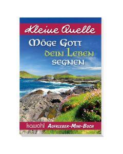 "Aufkleber-Mini-Buch ""Möge Gott dein Leben segnen"""