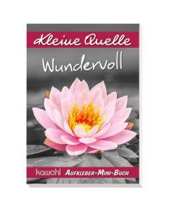 "Aufkleber-Mini-Buch ""Wundervoll"""