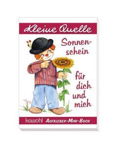 """Aufkleber-Mini-Buch """"Sonnenschein für dich und mich"""""""