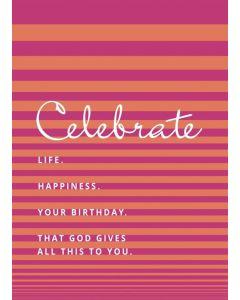 Postkarte - Celebrate