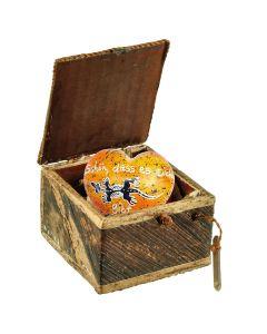 Geschenk-Box mit Herz  - Schön, dass es Dich gibt